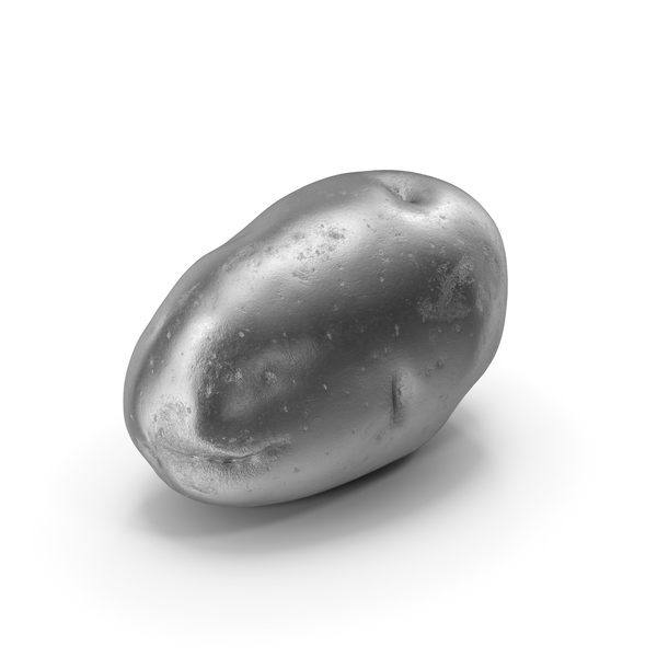 Potato Silver PNG & PSD Images
