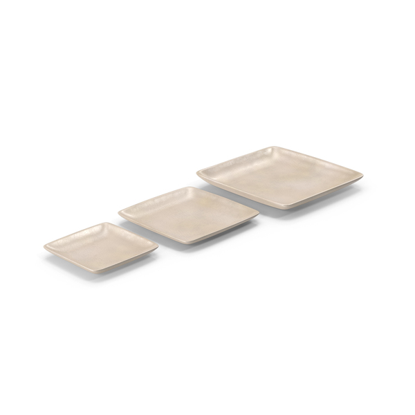 Dinner: Pottery Serving Plate Set PNG & PSD Images