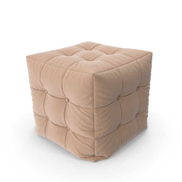 Pouf with Folds PNG & PSD Images