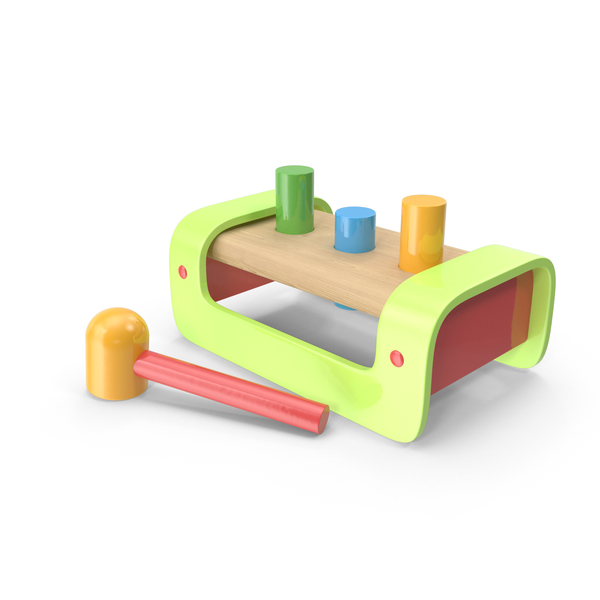 Pound A Peg Toy PNG & PSD Images