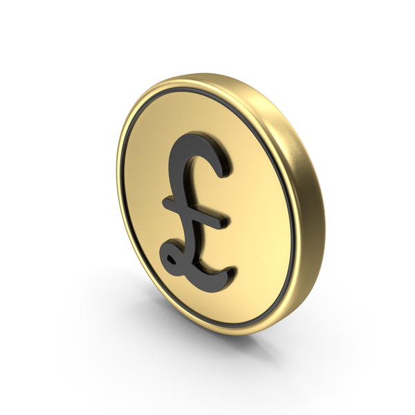 Pound Coin Logo Icon PNG & PSD Images