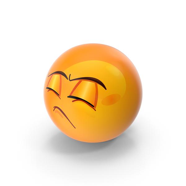 Pouting Emoji PNG & PSD Images