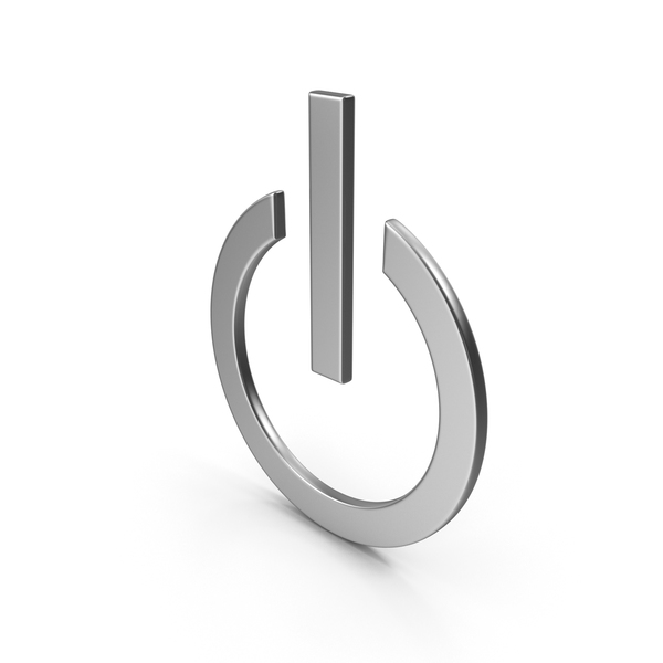 Pushbutton Switch: Power Button Symbol PNG & PSD Images