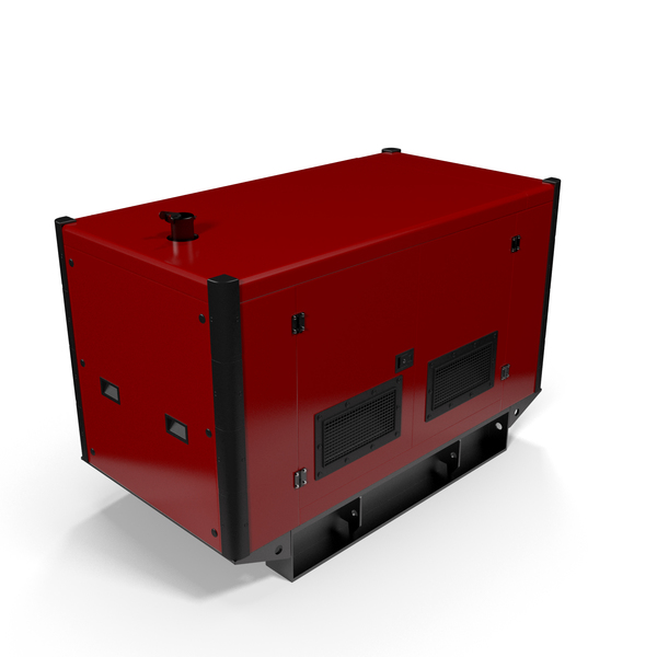 Power Generator Red PNG & PSD Images