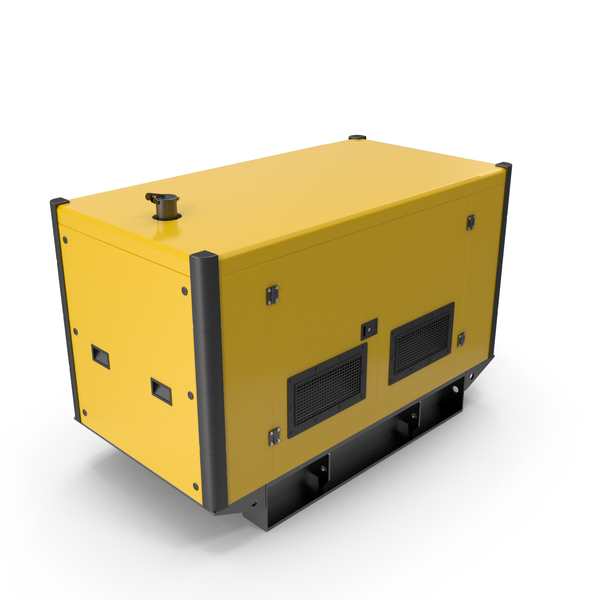 Power Generator Yellow PNG & PSD Images