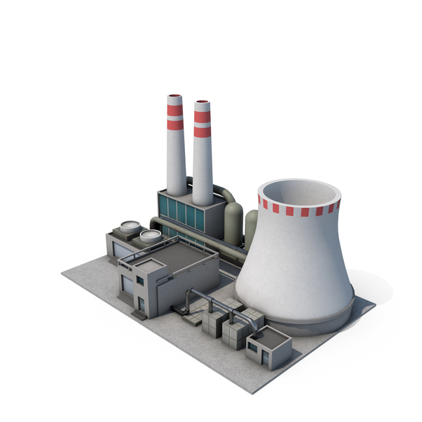 Power Plant cartoony PNG & PSD Images