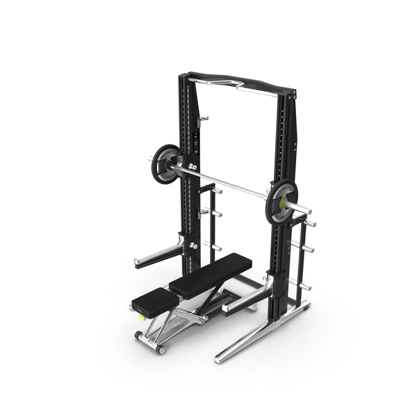 Power Rack Bench Technogym PNG & PSD Images