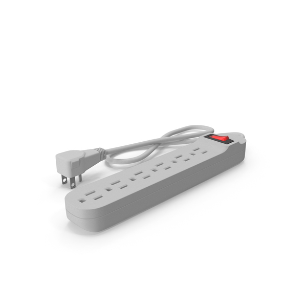 Power Strip 6 Outlet PNG & PSD Images