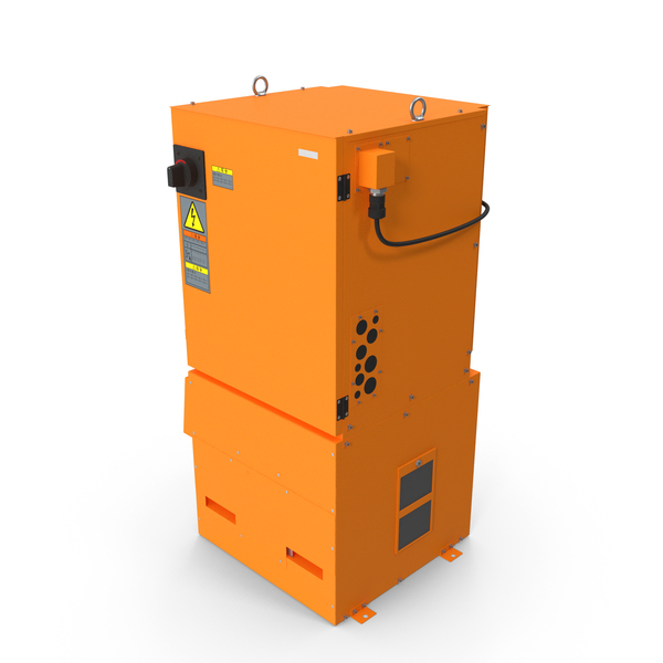 Utility Box: Power Supply for Welding Robot Generic PNG & PSD Images