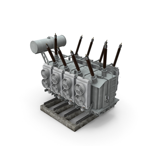 Electrical: Power Transformer PNG & PSD Images