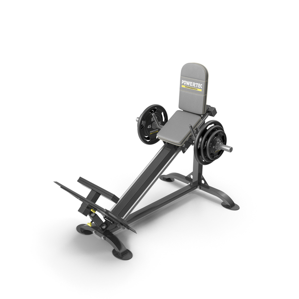 Powertec P-CLS10 Compact Leg Sled PNG & PSD Images
