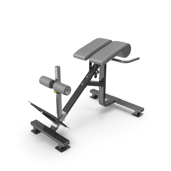 Powertec P-HC10 Dual Hyperextension Crunch PNG & PSD Images