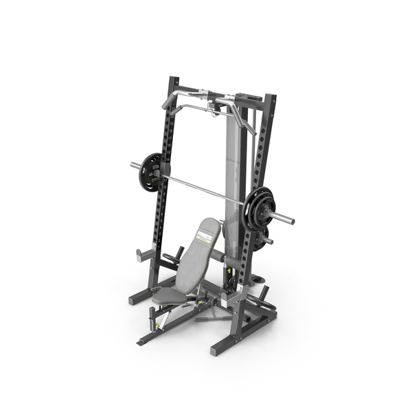Powertec WB-HR10 Workbench Half Rack PNG & PSD Images