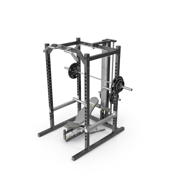Powertec WB-PR10 Workbench Power Rack PNG & PSD Images