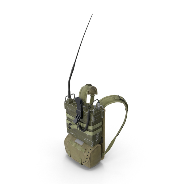 PRC-25 Radio with Pack Object