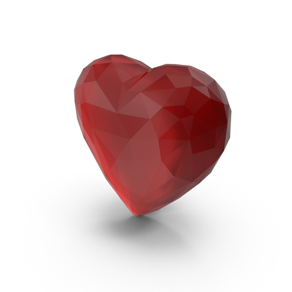 Heart Shaped Candy: Precious Stone Heart PNG & PSD Images