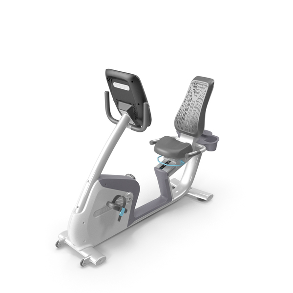 Precor RBK 885 Recumbent Bike PNG & PSD Images
