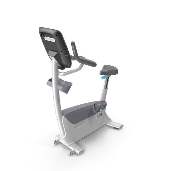 Precor UBK 885 Upright Exercise Bike PNG & PSD Images
