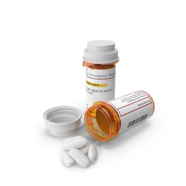 Prescription Pill Bottles PNG & PSD Images