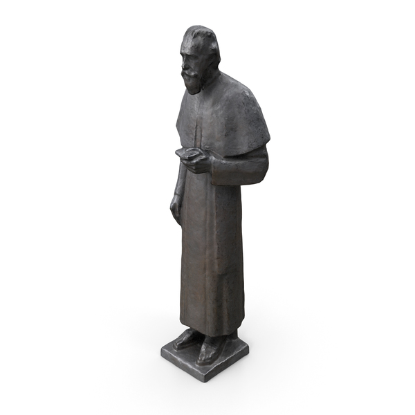 Priest Statue PNG & PSD Images