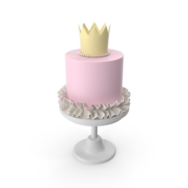 Princess Baby Cake PNG & PSD Images