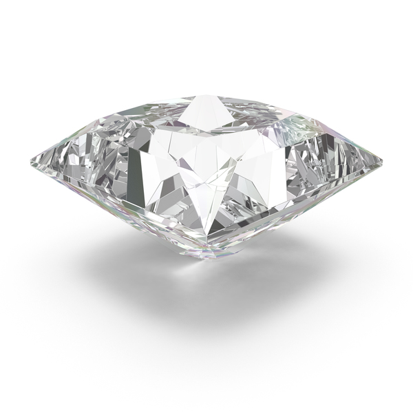 Princess Cut Diamond PNG & PSD Images
