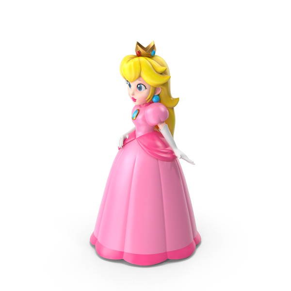 Game Character: Princess Peach PNG & PSD Images