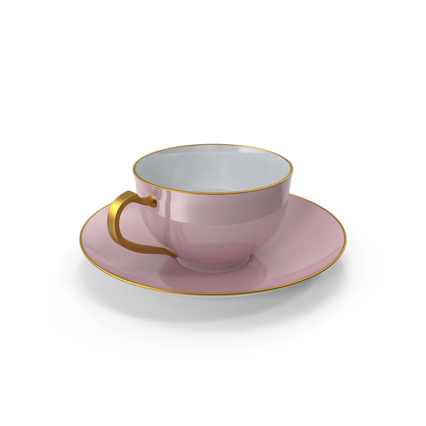 Set: Princess Tea Cup PNG & PSD Images