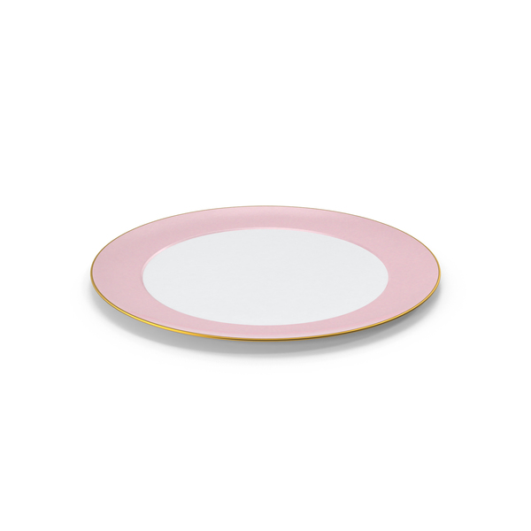 Princess Tea Plate Object