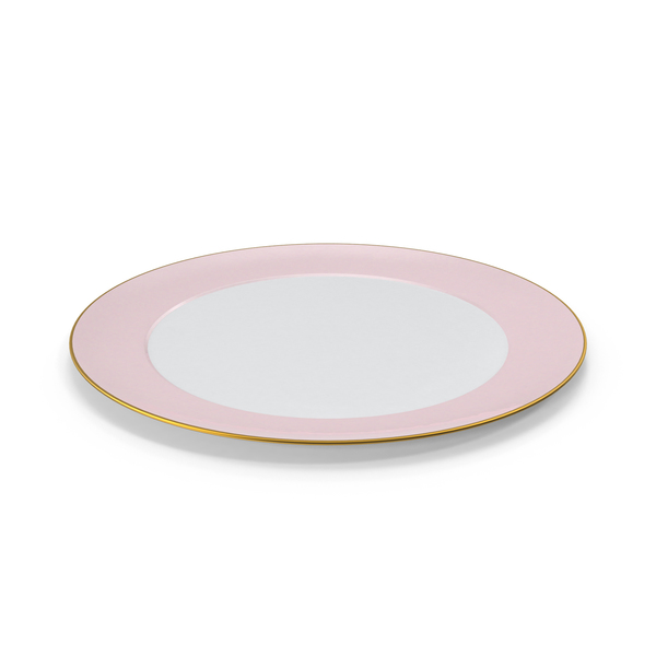 Set: Princess Tea Plate PNG & PSD Images