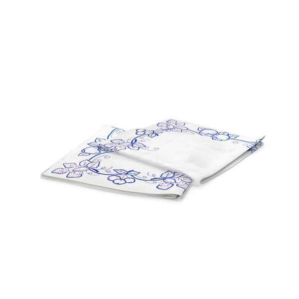 Printed Napkin PNG & PSD Images