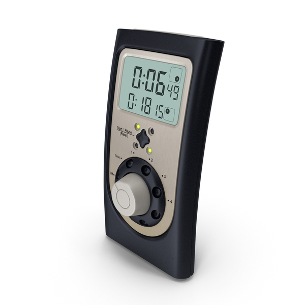 Professional Digital Kitchen Timer PNG & PSD Images