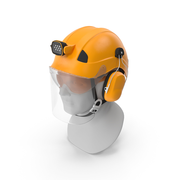 Professional Helmet For Work At Height And Rescue PNG & PSD Images