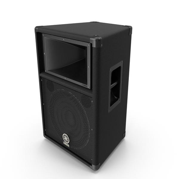 Professional Speaker Yamaha S112V PNG & PSD Images