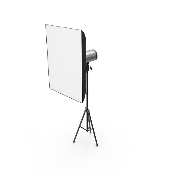 Professional Studio Lighting Softbox Object