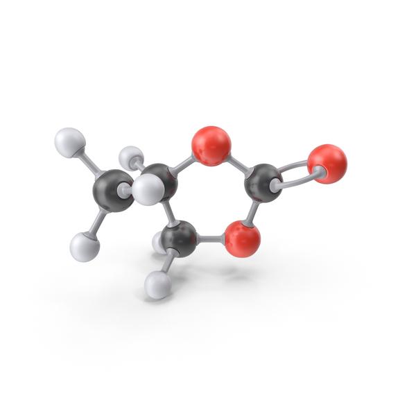 Propylene Carbonate Molecule PNG & PSD Images