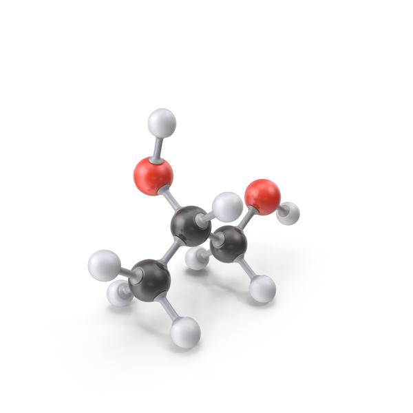 Propylene Glycol Molecule PNG & PSD Images