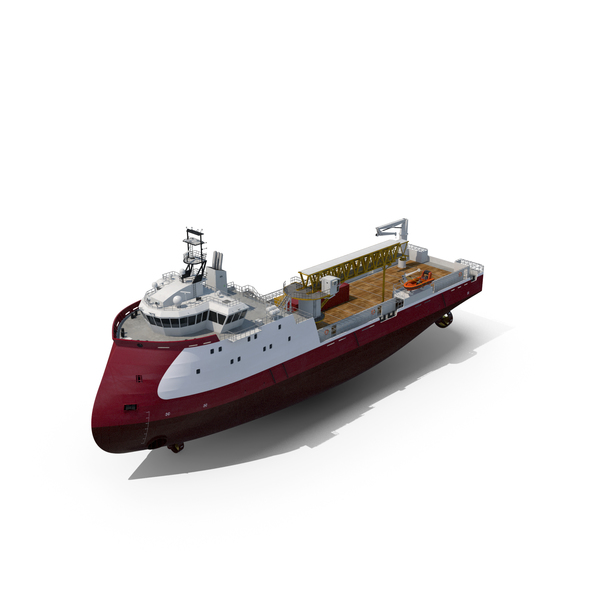 PSV Gangway Platform Supply Vessel PNG & PSD Images