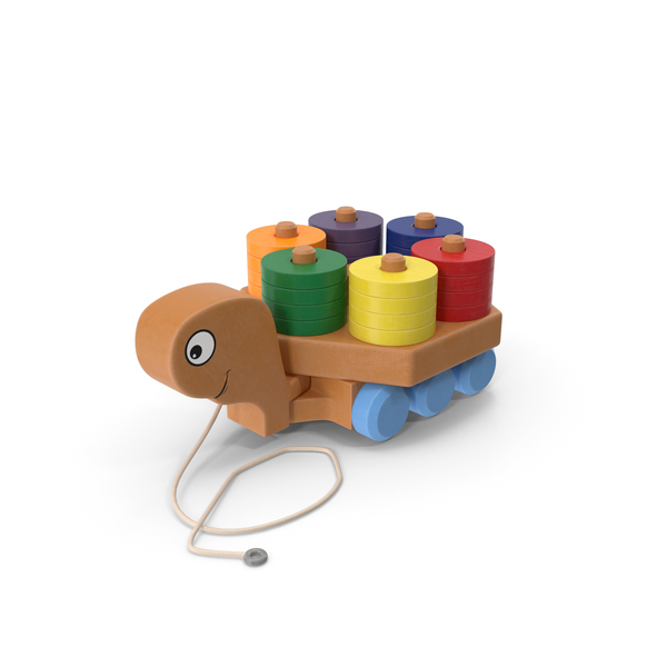 Pull Turtle Toy PNG & PSD Images