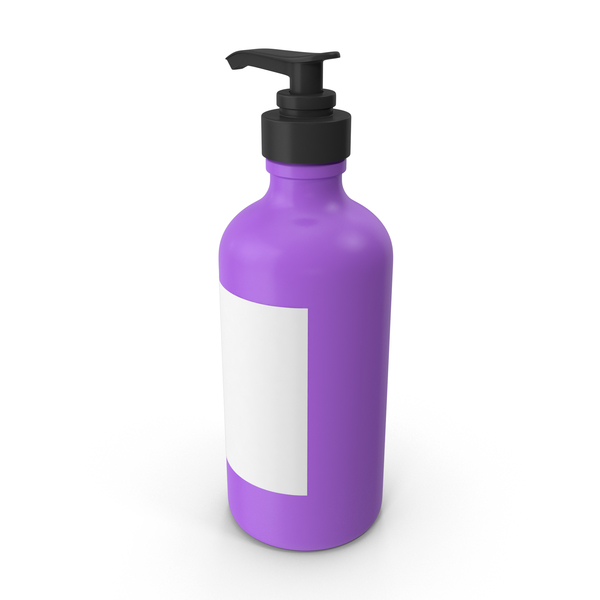 Liquid Soap Dispenser: Pump Bottle PNG & PSD Images