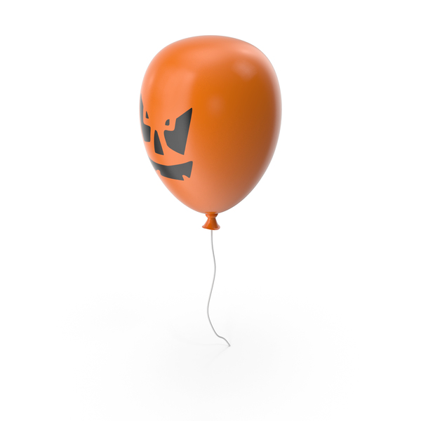 Balloons: Pumpkin Balloon PNG & PSD Images