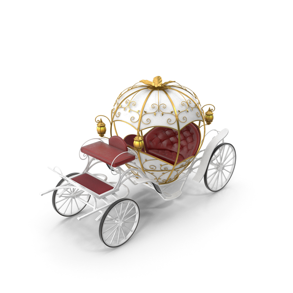 Pumpkin Carriage PNG & PSD Images