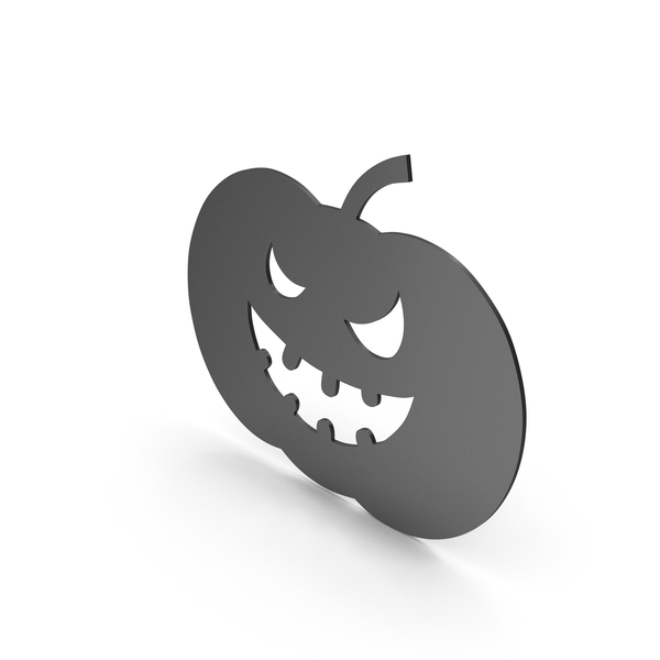 Pumpkin Figure Black PNG & PSD Images