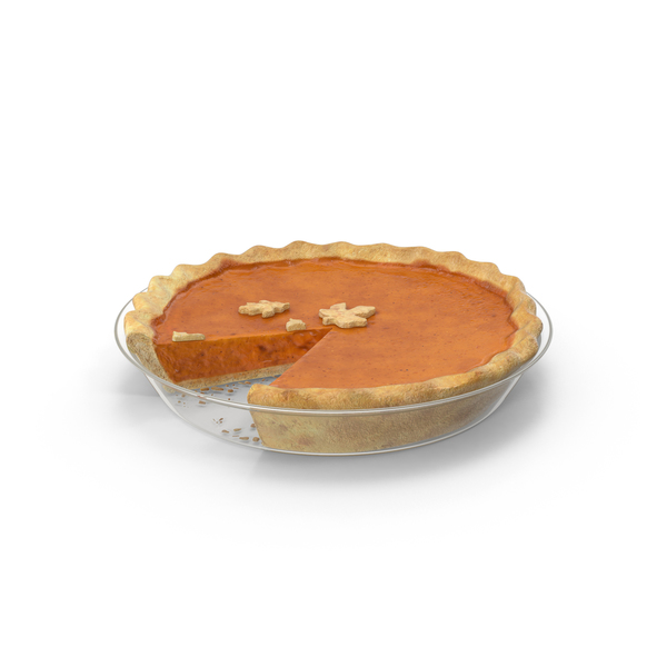 Pumpkin Pie Slice Missing PNG & PSD Images