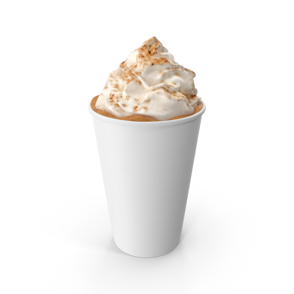 Coffee: Pumpkin Spice Latte PNG & PSD Images