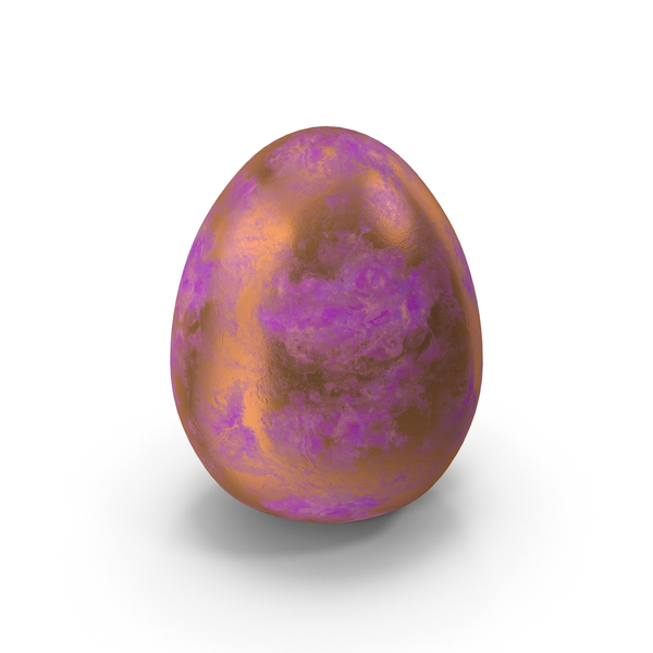 Purple Easter Egg PNG & PSD Images