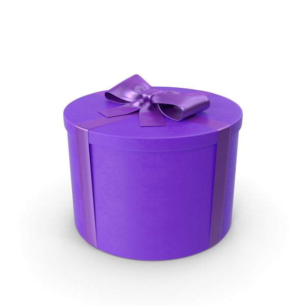Purple Gift PNG & PSD Images