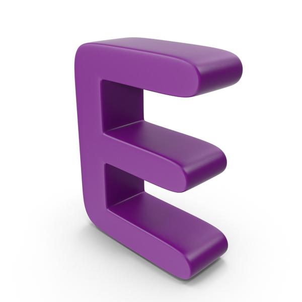 Purple Letter E PNG & PSD Images
