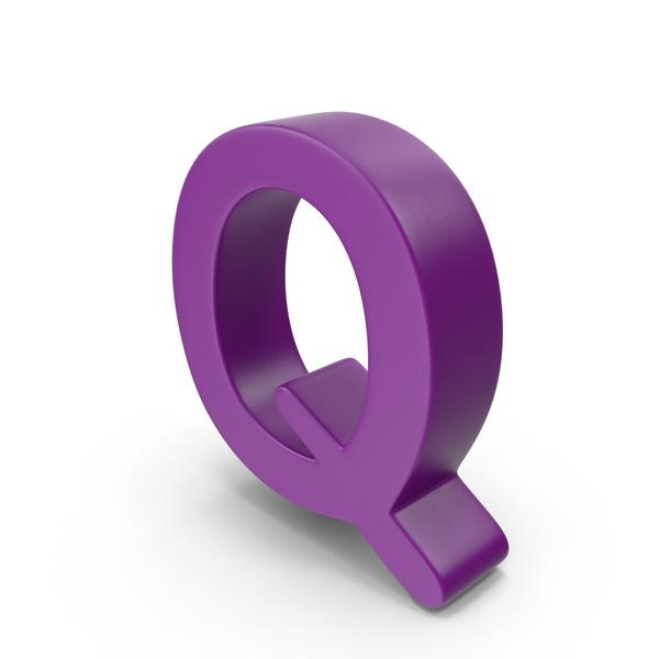 Purple Letter Q PNG & PSD Images