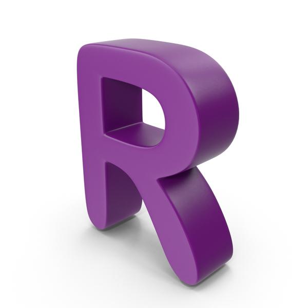 Purple Letter R PNG & PSD Images